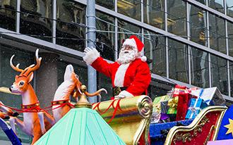 מצעד סנטה קלאוס בטורונטו - Santa Claus Parade